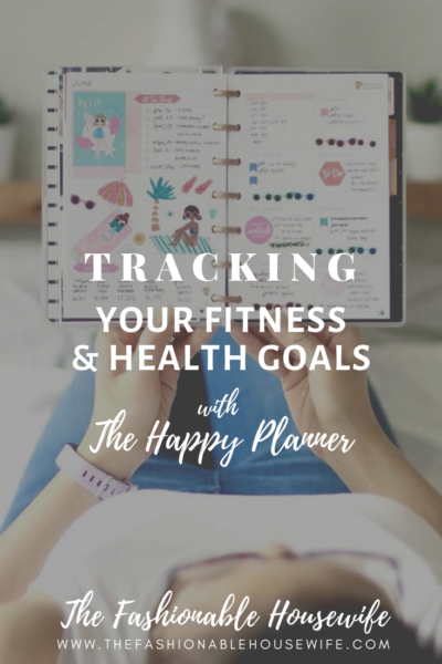Tracking Your Fitness & Health Goals With Happy Planner