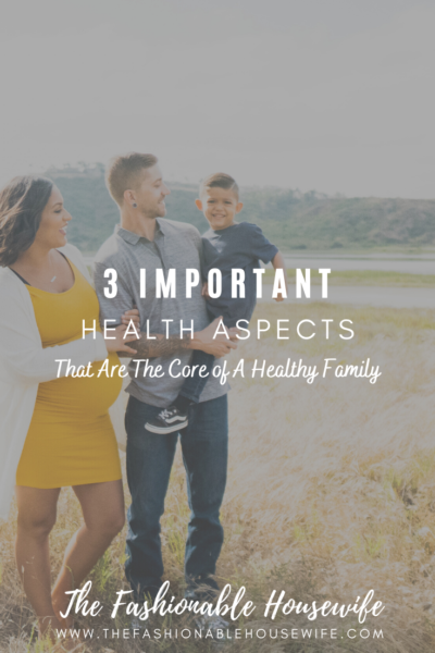 3 Important Health Aspects That Are The Core of A Healthy Family