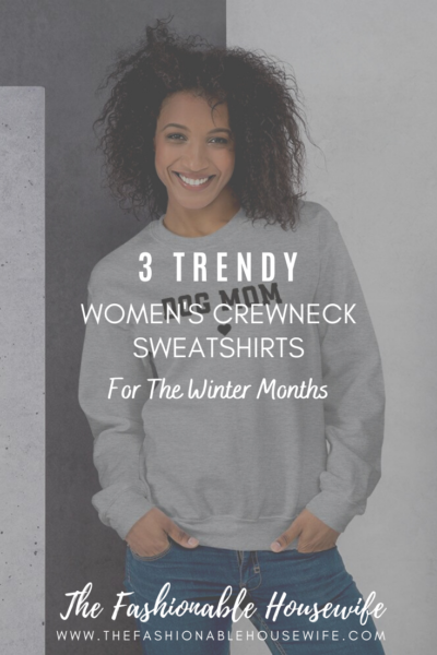 3 Trendy Women's Crewneck Sweatshirts for Winter Months