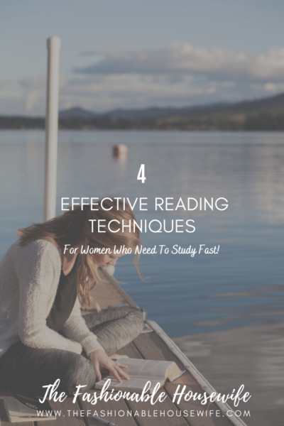 4 Effective Reading Techniques