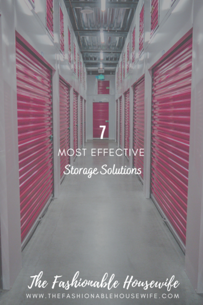 7 Most Effective Storage Solutions For Homeowners