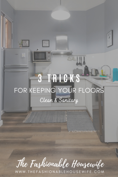 3 Tricks For Keeping Your Floors Cleaner