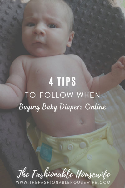 4 Tips to Follow When Buying Baby Diapers Online
