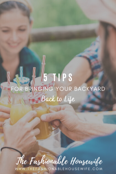 5 Tips For Bringing Your Backyard Back to Life