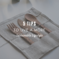 5 Tips to Live a More Sustainable Lifestyle