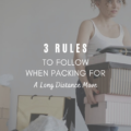 3 Rules to Follow When Packing for a Long Distance Move