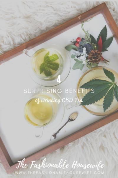 4 Surprising Benefits of Drinking CBD Tea