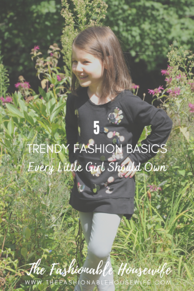 5 Trendy Fashion Basics Every Little Girl Should Own