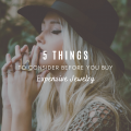 5 Things To Consider Before You Buy Expensive Jewelry