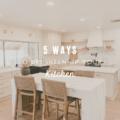 5 Ways to Brighten Up Your Kitchen