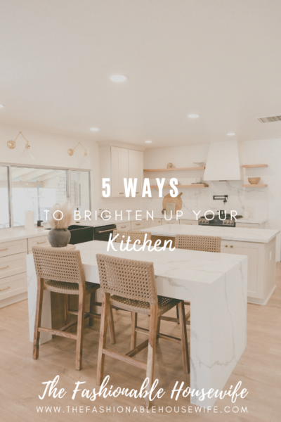 5 Ways to Brighten Up Your Kitchen