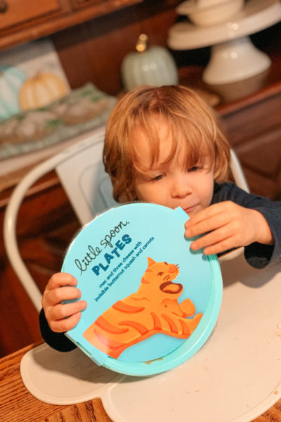 Little Spoon Toddler Plates