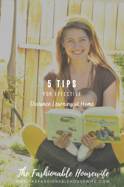 5 Tips for Effective Distance Learning At Home