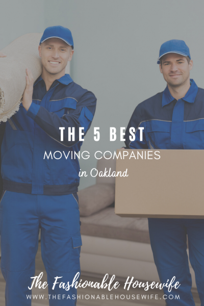 The 5 Best Moving Companies in Oakland