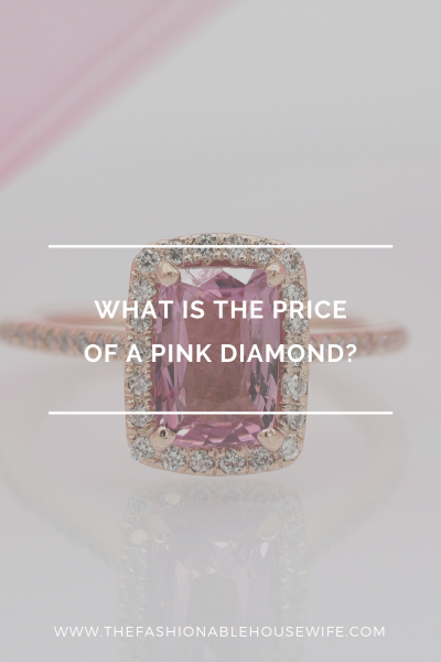 What is the price of a pink diamond?