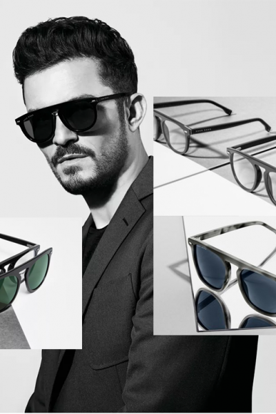 Orlando Bloom's Eyewear Collection for HUGO BOSS