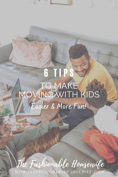 6 Tips to Make Moving with Kids Easier