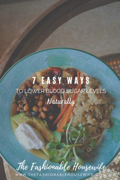 7 Easy Ways to Lower Blood Sugar Levels Naturally