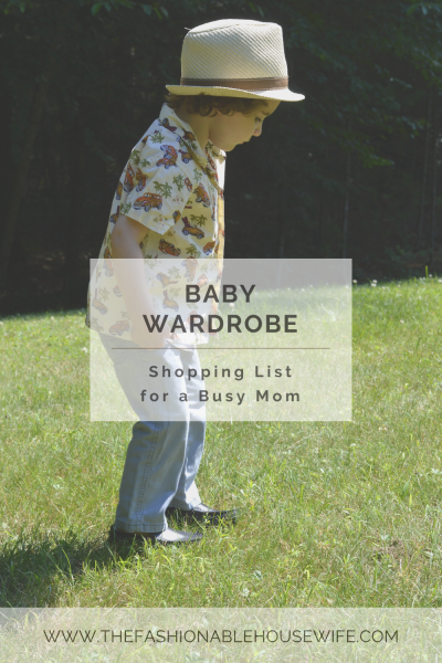 Baby Wardrobe: Shopping List for a Busy Mom