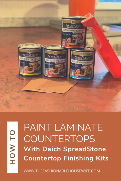 How To Paint Laminate Countertops with Daich SpreadStone Countertop Paint