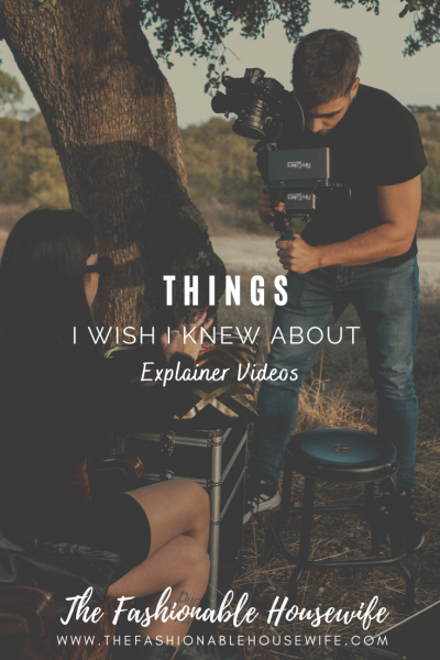 Things I Wish I Knew About Explainer Videos