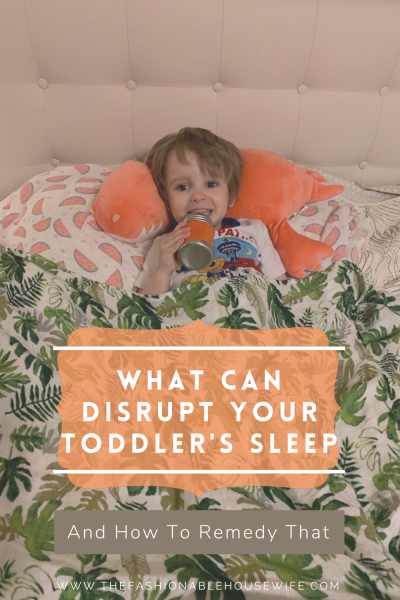 What Can Disrupt Your Toddler's Sleep and How To Remedy That Problem