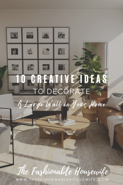 10 Creative Ideas to Decorate a Large Wall in Your Home