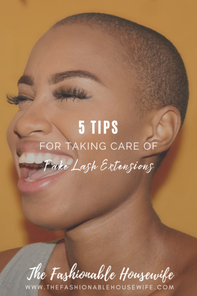 5 Tips for Taking Care of Fake Lash Extensions