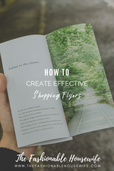 How To Create Effective Shopping Flyers