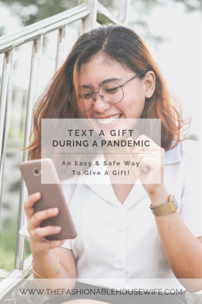 Text a Gift During a Pandemic: An Easy Way to Give