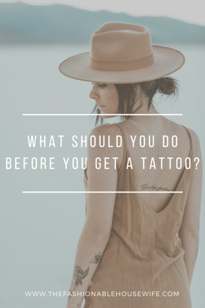 What Should You Do Before You Get a Tattoo?