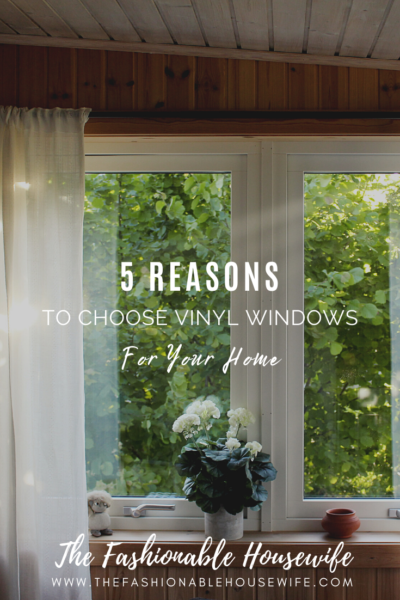 5 Reasons to Choose Vinyl Windows for Your Home