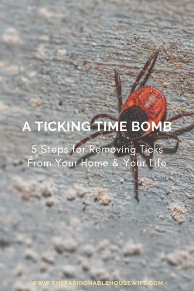 A Ticking Time Bomb: 5 Steps for Removing Ticks From Your Life