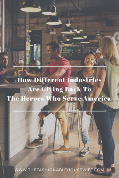 How Different Industries Are Giving Back To The Heroes Who Serve America