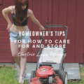 Smart Homeowner's Tips for How To Care For And Store Electric Lawn Mowers