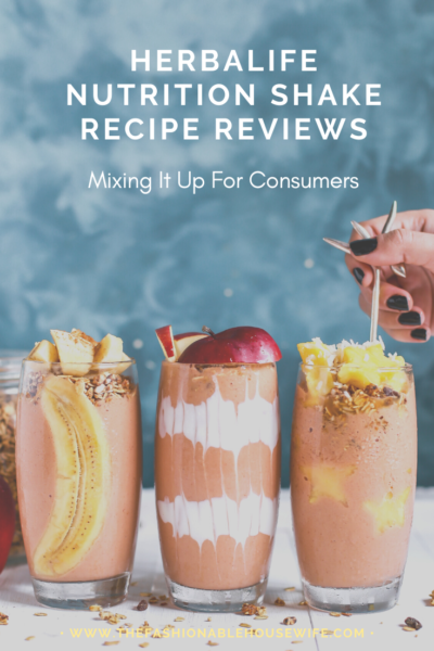 Herbalife Nutrition Shake Recipe Reviews: Mixing It Up For Consumers