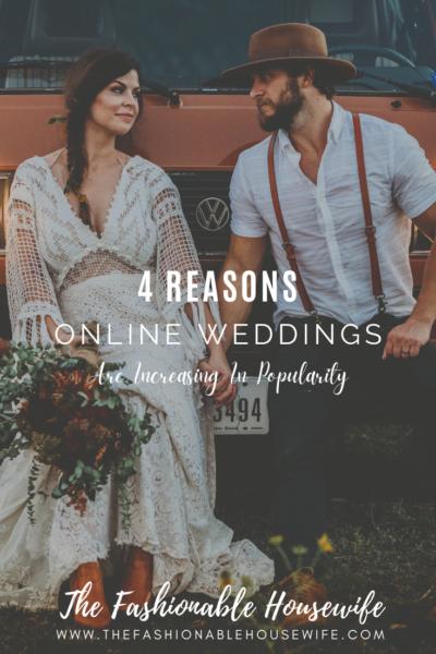 4 Reasons Online Weddings Are Increasing In Popularity