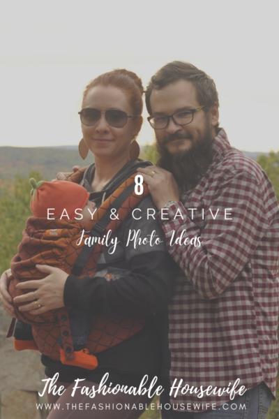 8 Easy & Creative Family Photo Ideas