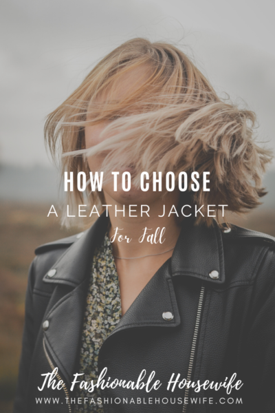 How To Choose a Leather Jacket For Fall