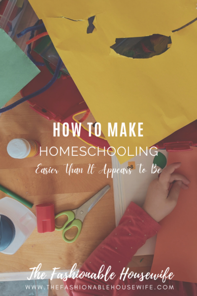 How To Make Homeschooling Easier Than It Appears To Be