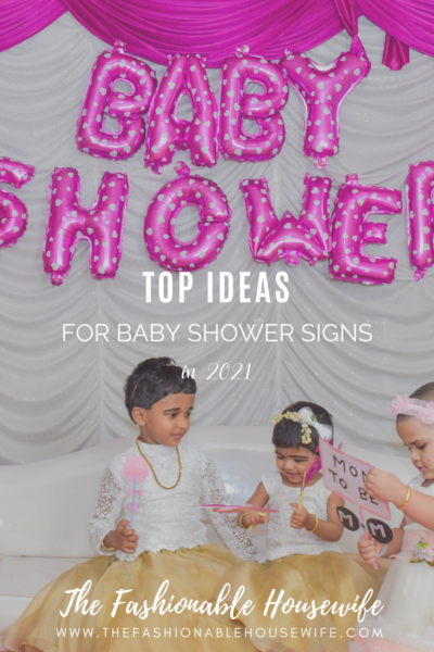 Top Ideas for Baby Shower Signs in 2021