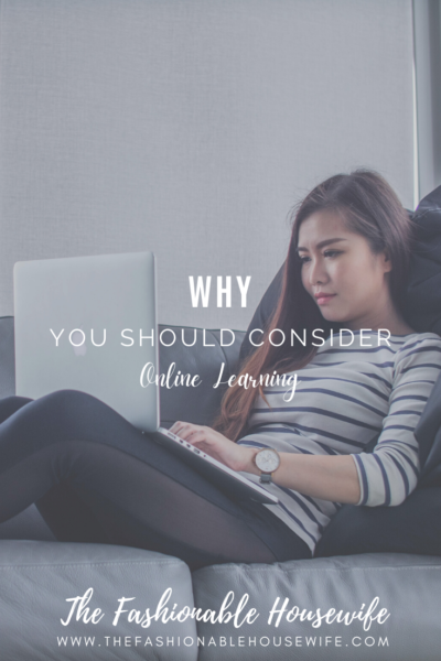 Why You Should Consider Online Learning