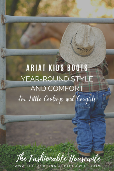 Ariat Kids Boots: Year-Round Style and Comfort for Little Cowboys and Cowgirls