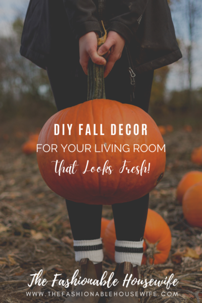 DIY Fall Decor For Your Living Room That Looks Fresh!